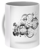 Cloud Made By Gears Wheels  Coffee Mug by Setsiri Silapasuwanchai
