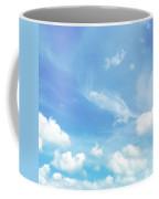 Cloud Shapes  Coffee Mug