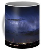 Cloud To Cloud Lightning Boulder County Colorado Coffee Mug