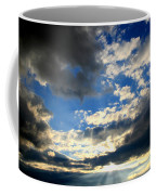 Clouded Sun Rays Coffee Mug