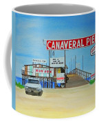Cocoa Beach/cape Canaveral Pier Coffee Mug