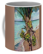 Coconuts On Beach Coffee Mug