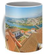Coimbra Aerial View Coffee Mug