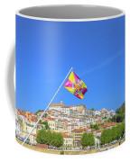 Coimbra Skyline Portugal Coffee Mug