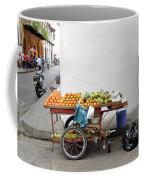 Colombia Fruit Cart Coffee Mug