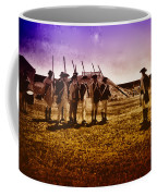 Colonial Soldiers At Fort Mifflin Coffee Mug