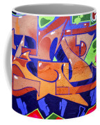 Colorful Abstract Street Art  Coffee Mug
