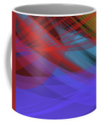 Colorful Abstract Vector Background Banner, Transparent Wave Lin Coffee Mug