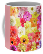Colorful Floral Background Coffee Mug