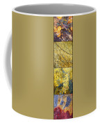 Colorful Slate Tile Abstract Composite V3 Coffee Mug