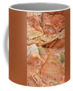 Colorful Wash 3 In Valley Of Fire Coffee Mug