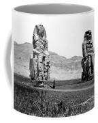 Colossi Of Memnon, Valley Of The Kings Coffee Mug