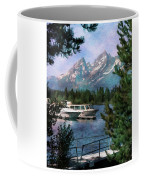 Colter Bay In The Tetons Coffee Mug