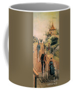 Columbia Bicycles Poster Coffee Mug