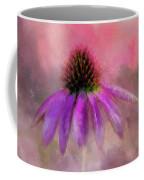 Coneflower Painted Coffee Mug
