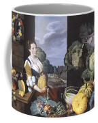 Cookmaid With Still Life Of Vegetables And Fruit Coffee Mug