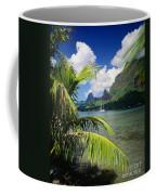 Cooks Bay With Sailboat Coffee Mug