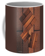 Copper Plate Abstract Coffee Mug