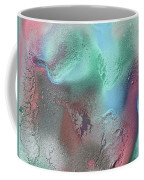 Coral, Turquoise, Teal Coffee Mug by Julia Fine Art