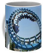 Cork-screw Rollercoaster And Ferris-wheel Coffee Mug
