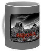 Courthouse Butte And Bell Rock Sedona Arizona Coffee Mug