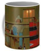 Cowboy On Porch Coffee Mug
