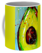 Crazy Avocado Coffee Mug by Patricia Awapara