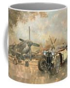 Cream Cracker Mg 4 Spitfires  Coffee Mug by Peter Miller