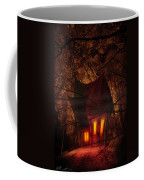 Crooked House Coffee Mug by Svetlana Sewell