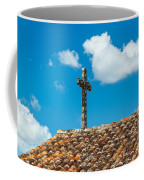 Cross And Tiled Roof Coffee Mug