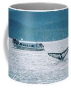 Cruise Ship Pier 91 In Seattle Washington Coffee Mug