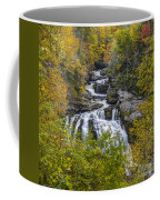 Cullasaja Falls In Autumn Coffee Mug