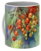 Currants Berries Painting Coffee Mug by Svetlana Novikova