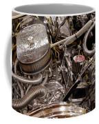 Custom Car Chromed Engine Coffee Mug