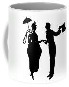Cut-paper Silhouette Coffee Mug