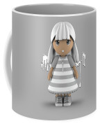 Cute Little 3d Girl Coffee Mug