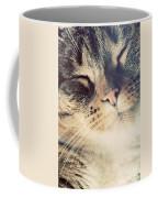 Cute Small Cat Portrait Coffee Mug