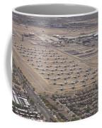 Davis-monthan Air Force Base Airplane Coffee Mug