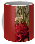 Decorative Mixed Media Floral A3117 Coffee Mug by Mas Art Studio