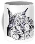 Deer Tiger Coffee Mug