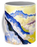Dents Du Midi In Clouds Coffee Mug