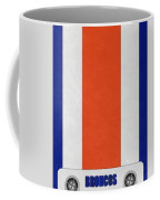 Denver Broncos Helmet Art Coffee Mug