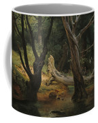 Departure For The Hunt In The Pontine Marshes Coffee Mug