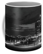 Detroit River Walk Panorama Coffee Mug