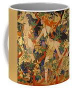 Diana And Her Nymphs Coffee Mug