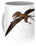 Dimorphodon On White Coffee Mug