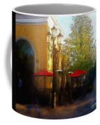 Dining At The Village Coffee Mug