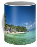 Diniwid Beach In Tropical Paradise Boracay Philippines Coffee Mug
