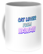Dog Lover From Hawaii Coffee Mug