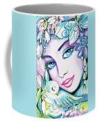 Dove Fairy Coffee Mug